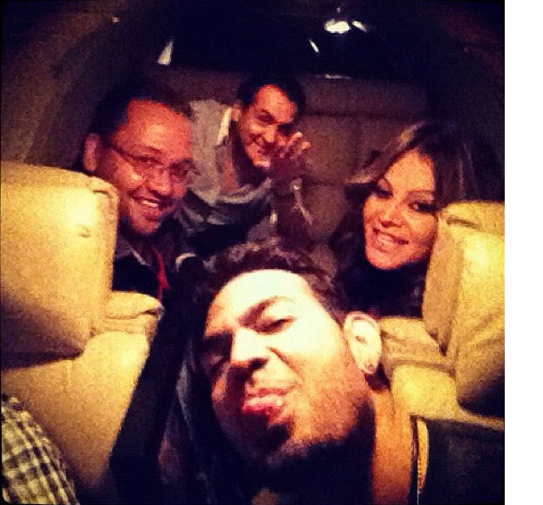 This is what is believed to be the final photo of Jenni Rivera. (Instagram)