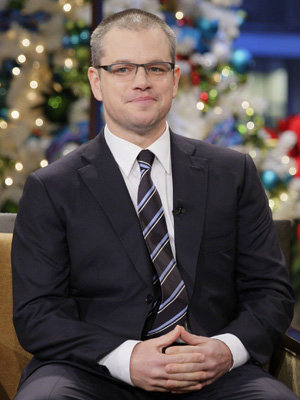 Matt Damon (Paul Drinkwater/NBC)
