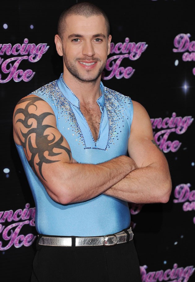 fd0b57a9f Celeb Photos: Shayne Ward with hairy chest @ Dancing on Ice 2013 Photocall  - Classic ATRL