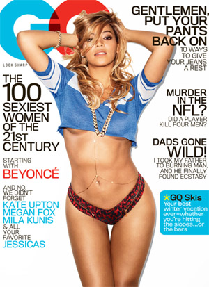 Beyonce on the cover of GQ