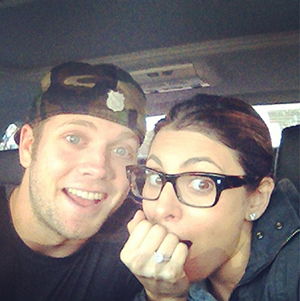 Cutter Dykstra and Jamie-Lynn Sigler (Instagram)