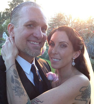 Newlyweds Jesse James and Alexis DeJoria (Instagram)