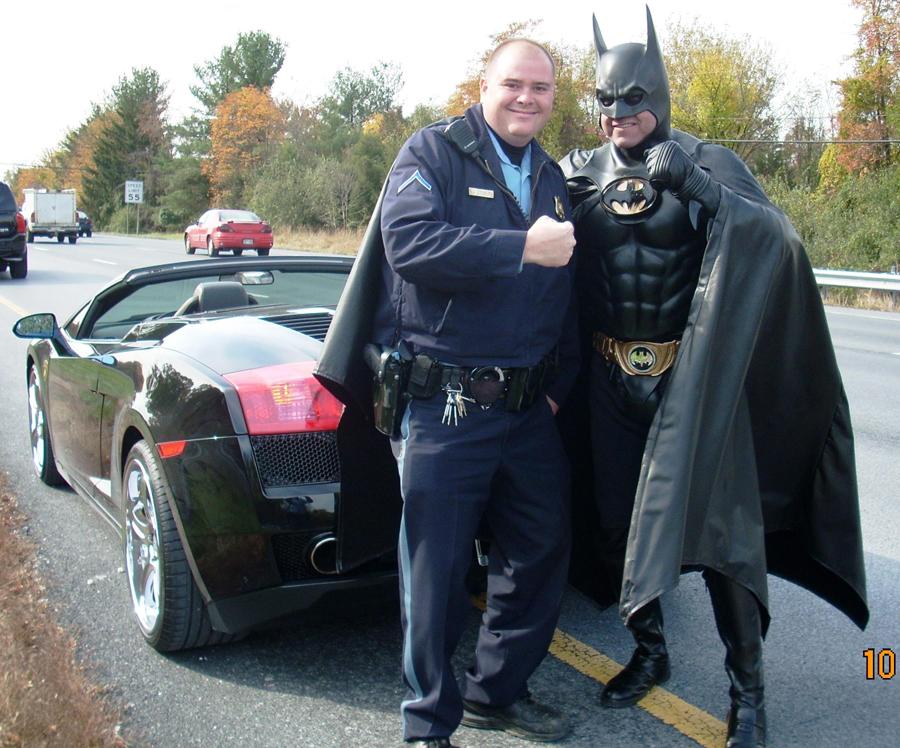 batman cop