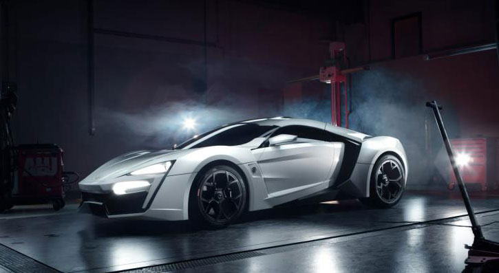Diamonds are a car's best friend: Middle East's first supercar to cost $3.4 Million