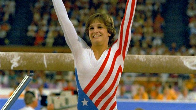 Mary Lou Retton for the win. (Getty Images)