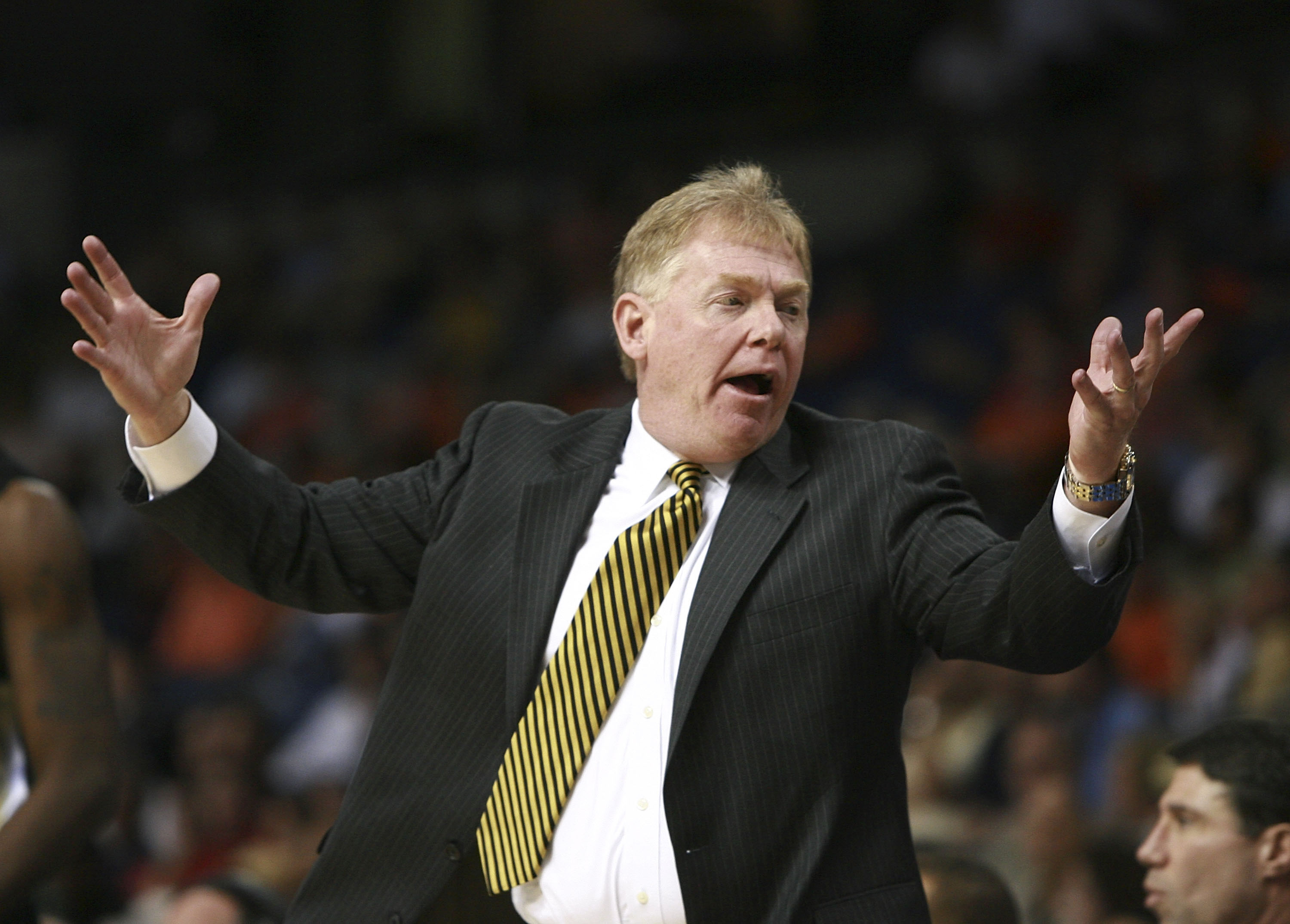 Skip Prosser was a popular figure in the fraternity of NCAA coaches. (Getty Images)