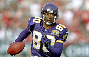 Cris Carter spent 12 of his 16 NFL seasons with the Vikings. (US Presswire)