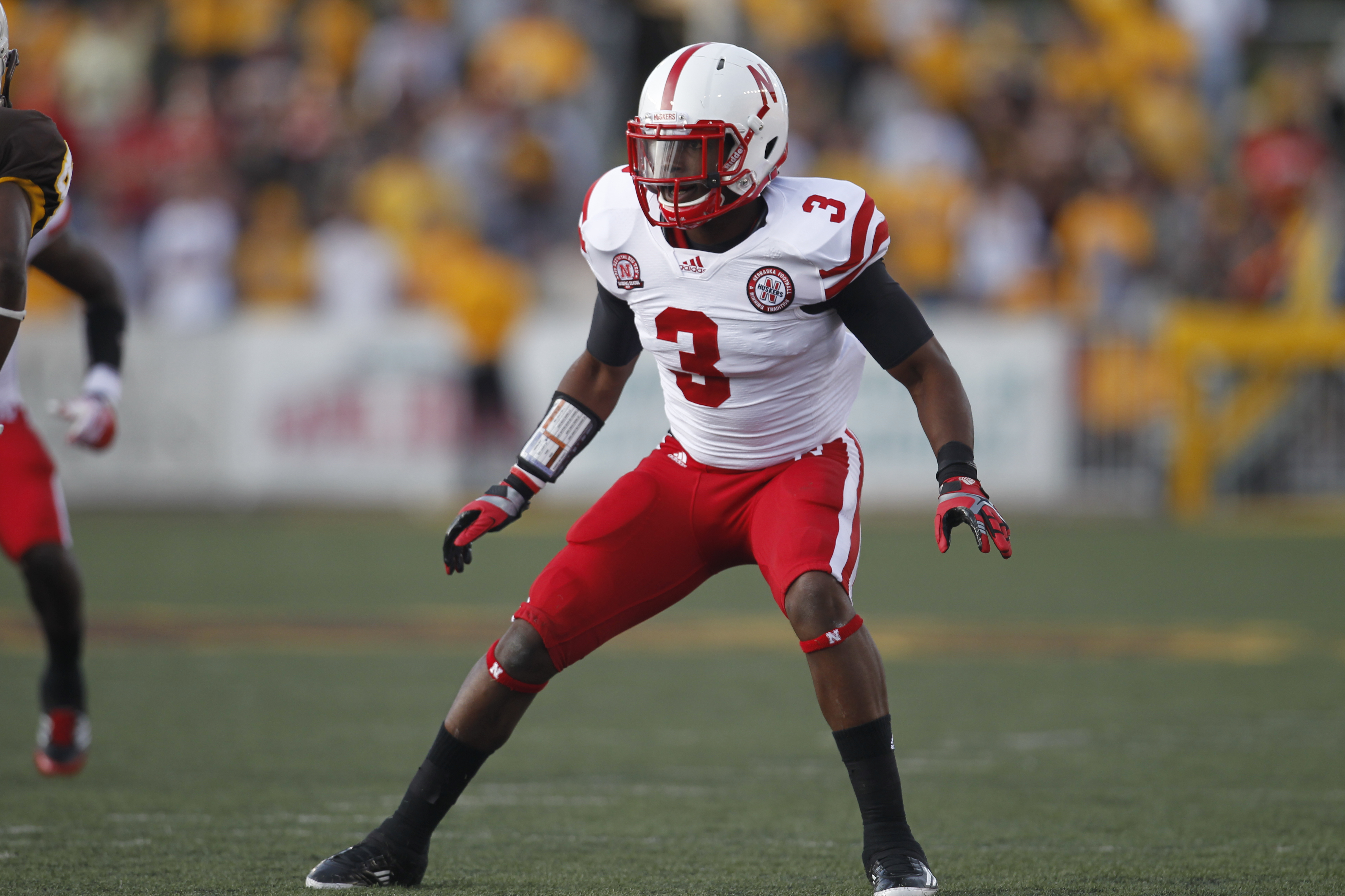 Daimion Stafford has the potential to be one of the top safeties in the nation this fall. (Univ. of Nebraska)