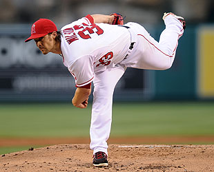 C.J. Wilson dealt a decent game Monday, but the Angels still lost 6-2.