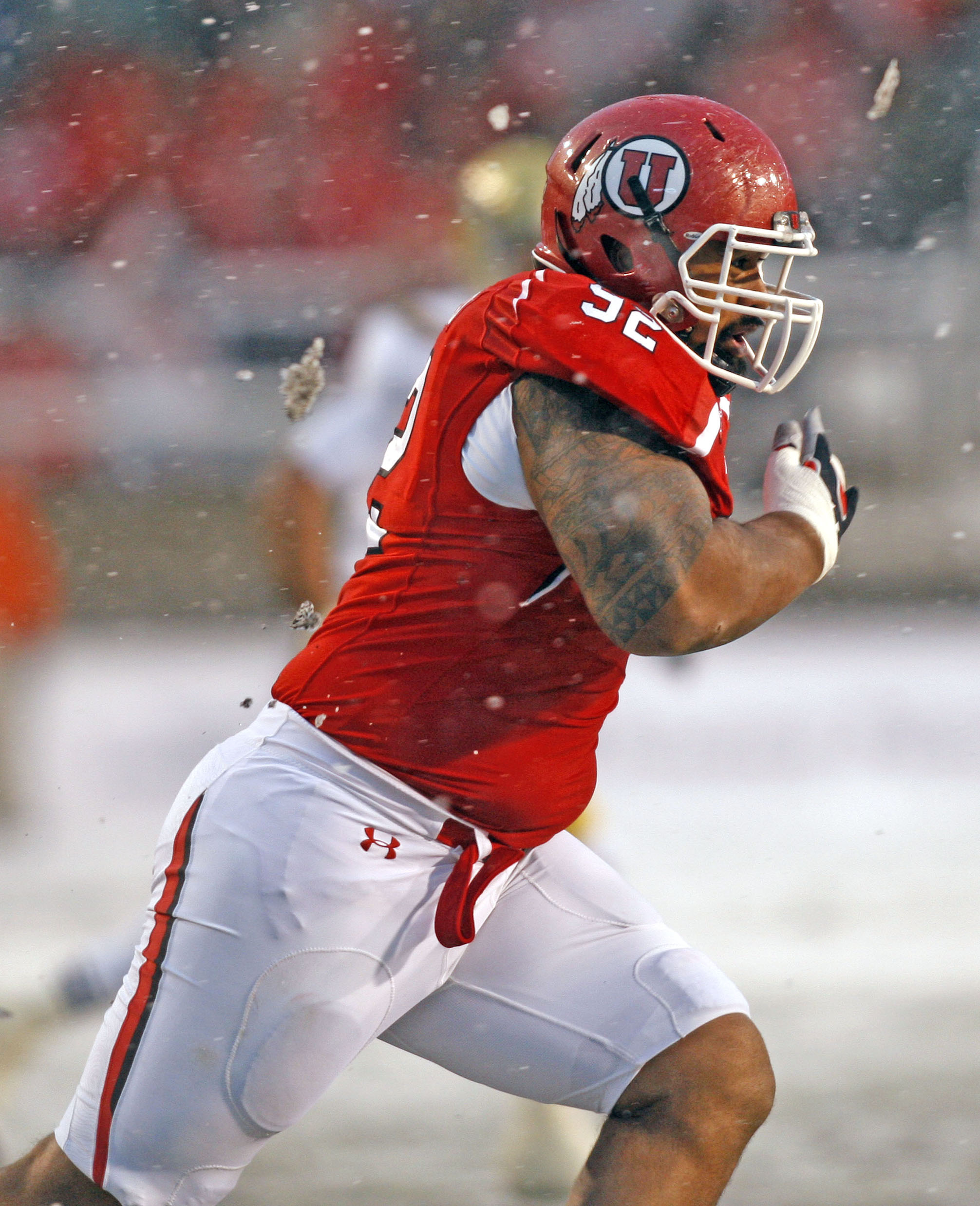 Star Lotulelei is a force in the middle and the best defensive lineman in the nation. (Univ. of Utah)