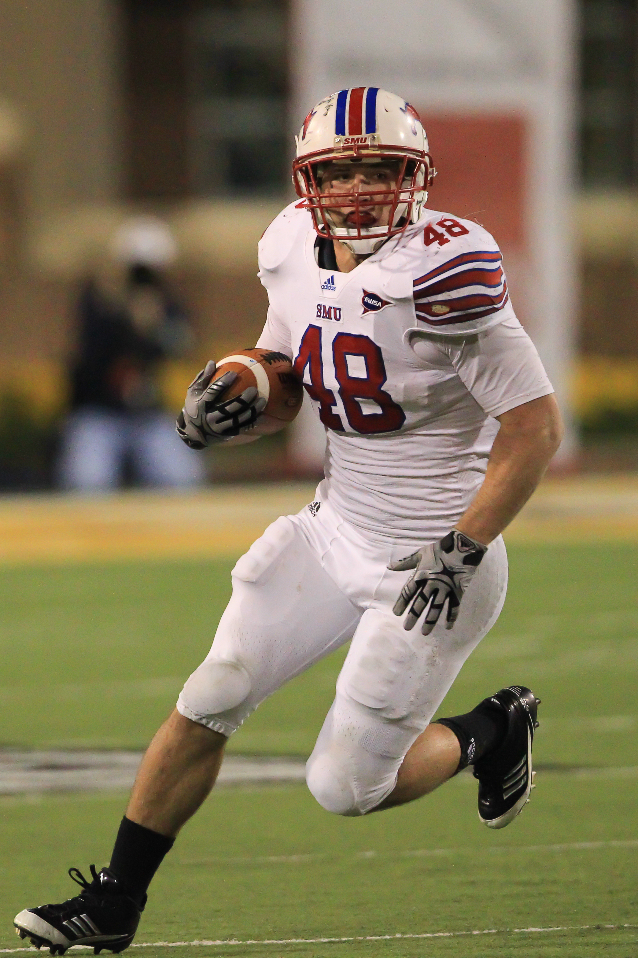 SMU's Zach Line will be going for his third consecutive 1,000-yard season this fall. (Photo provided by SMU)