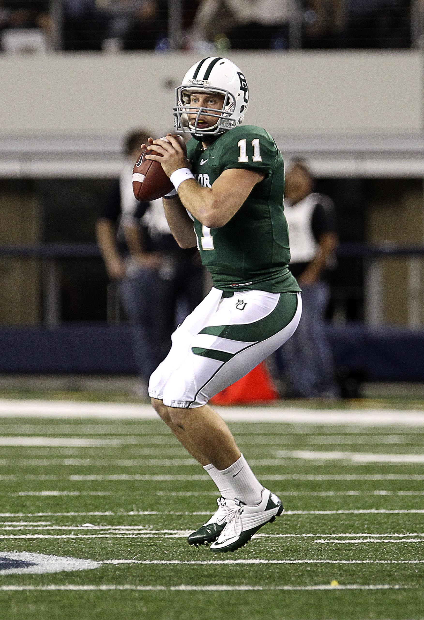 Florence was pressed into action as a freshman in 2009 and played relatively well. (Baylor)