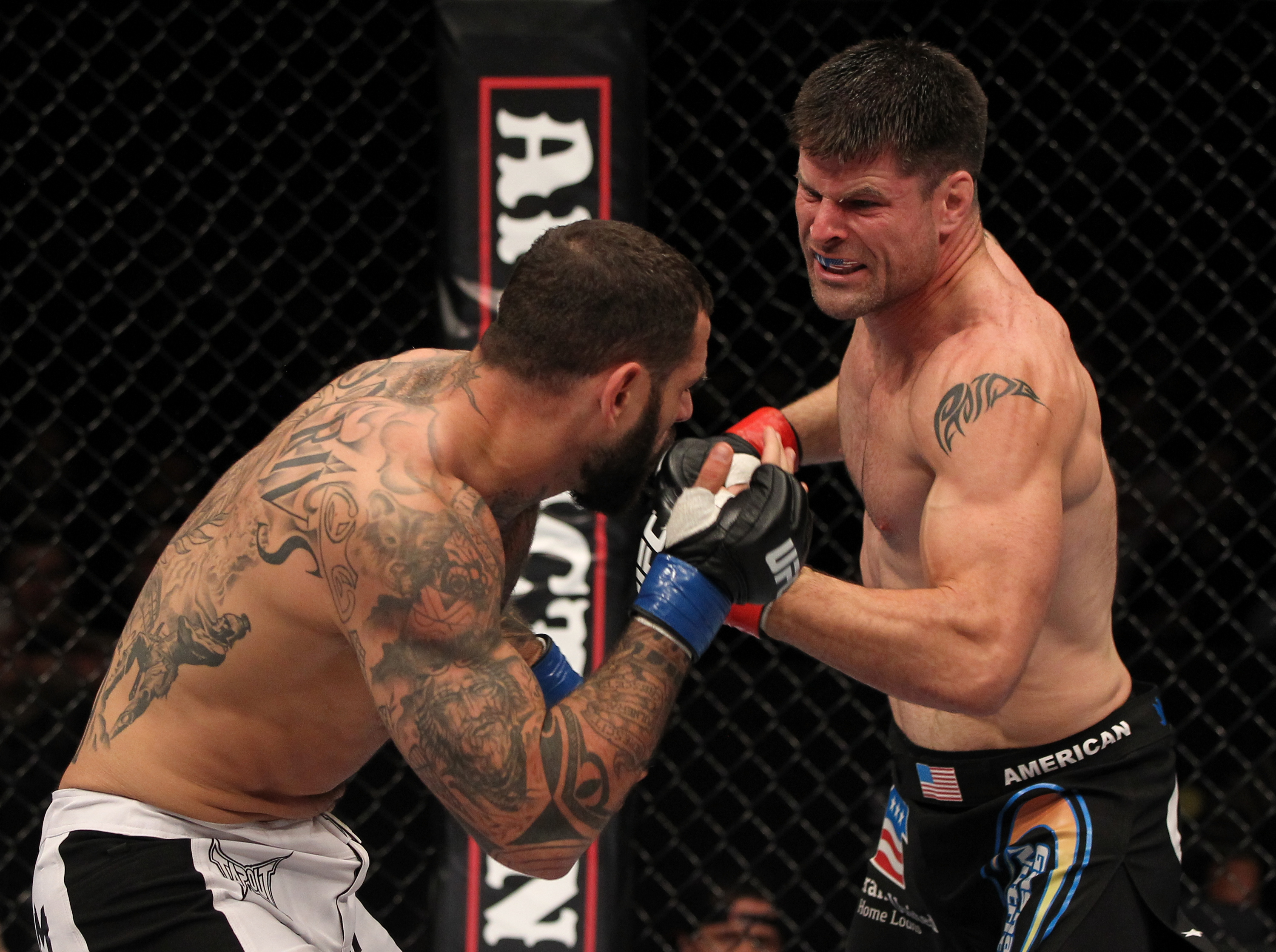 Brian Stann knocked Alessio Sakara out cold in his last fight on April 14. (Getty)