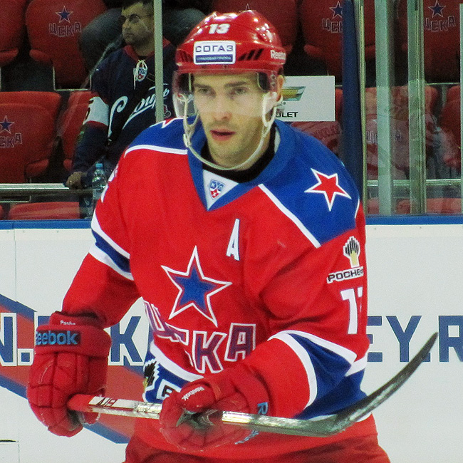 Pavel Datsyuk has been invaluable to CSKA Moscow both on and off the ice. (Y! Sports)