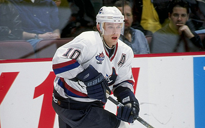 Pavel Bure with Vancouver Canucks in 1998