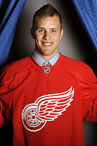 Detroit Red Wings, prospect Riley Sheahan
