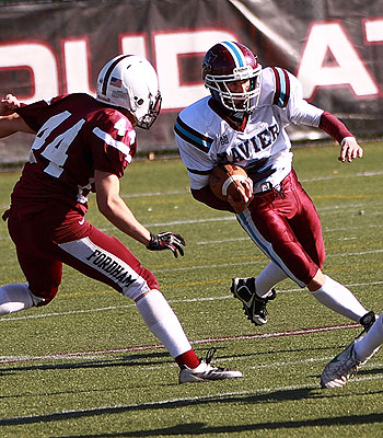 Xavier High beat Fordham Prep to advance to the CHSFL championship game. (Courtesy of Chris Stevens)