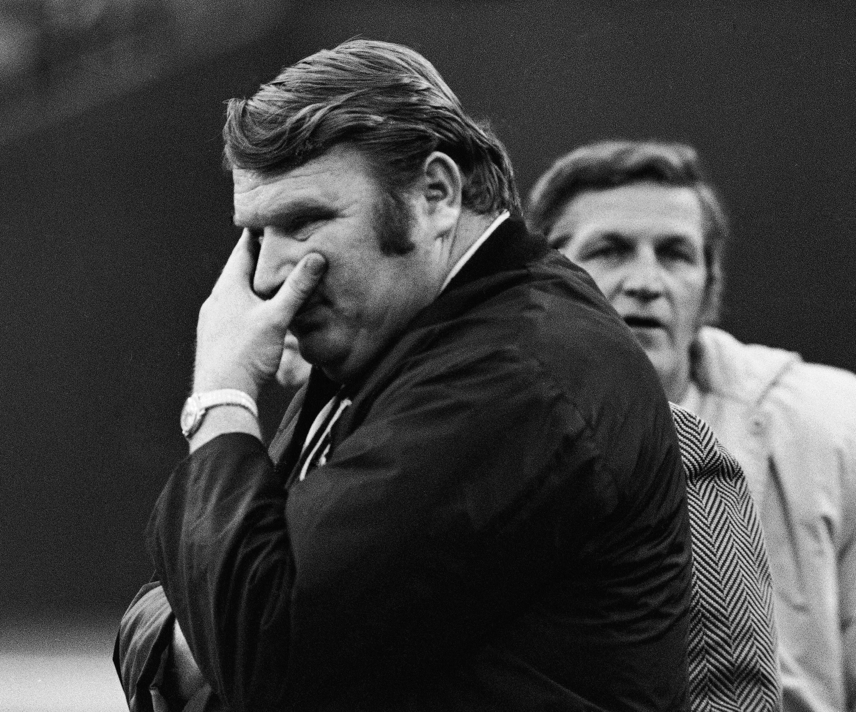 John Madden refuses to answers questions about the Immaculate Reception. (AP)