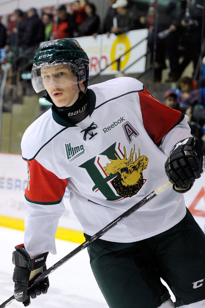 Halifax forward Nathan MacKinnon