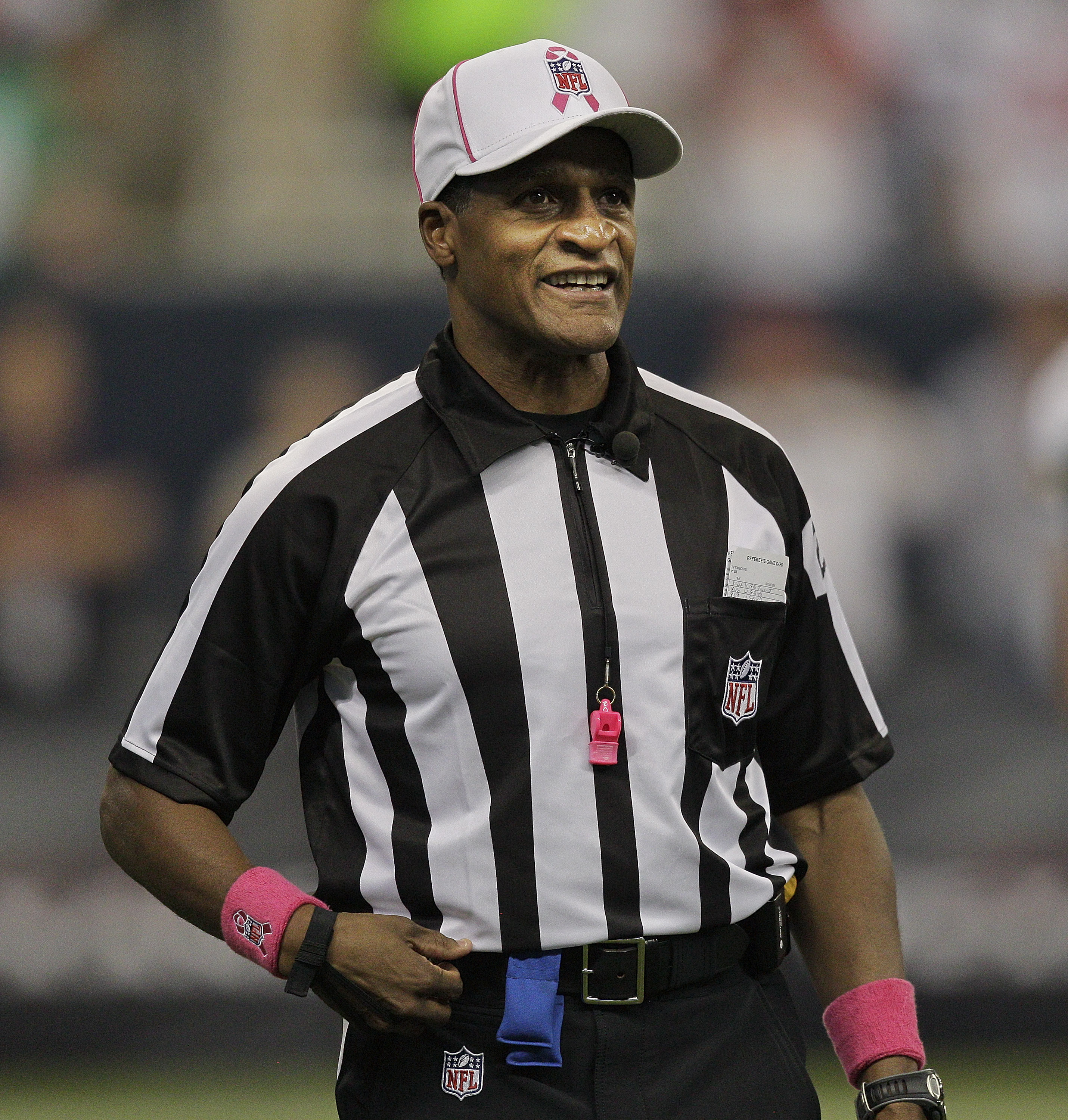 Jerome Boger became an NFL official in 2004, a referee in 2006. (Getty Images)