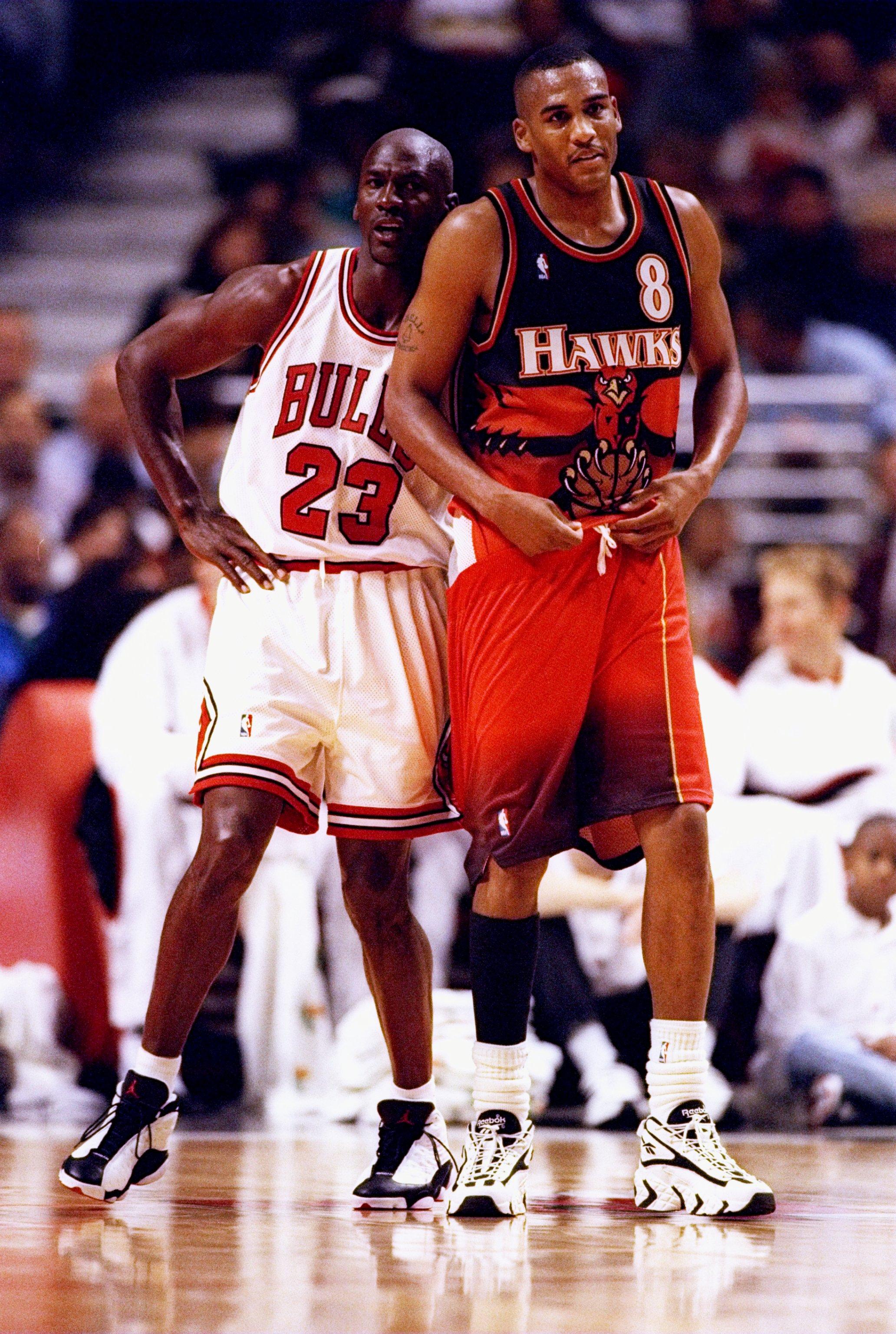 Steve Smith and Michael Jordan