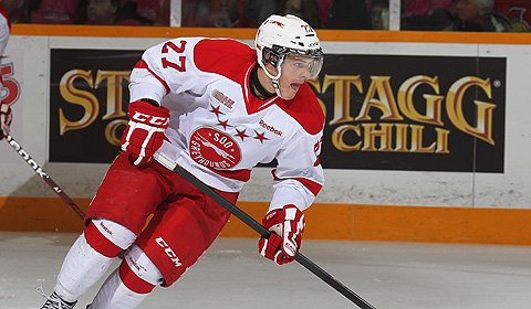 Sault Ste. Marie Greyhounds (OHL) star Nick Cousins, a draft pick of the NHL's Philadelphia Flyers