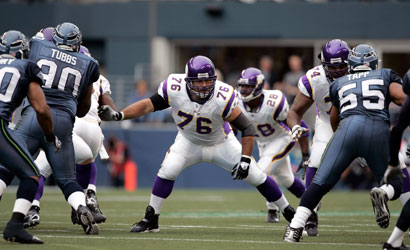 Steve Hutchinson was a four-time Pro Bowler for the Vikes. (USA TODAY)