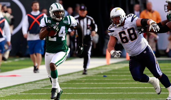Darrelle Revis' future has been a hot topic this offseason. (USA TODAY Sports)