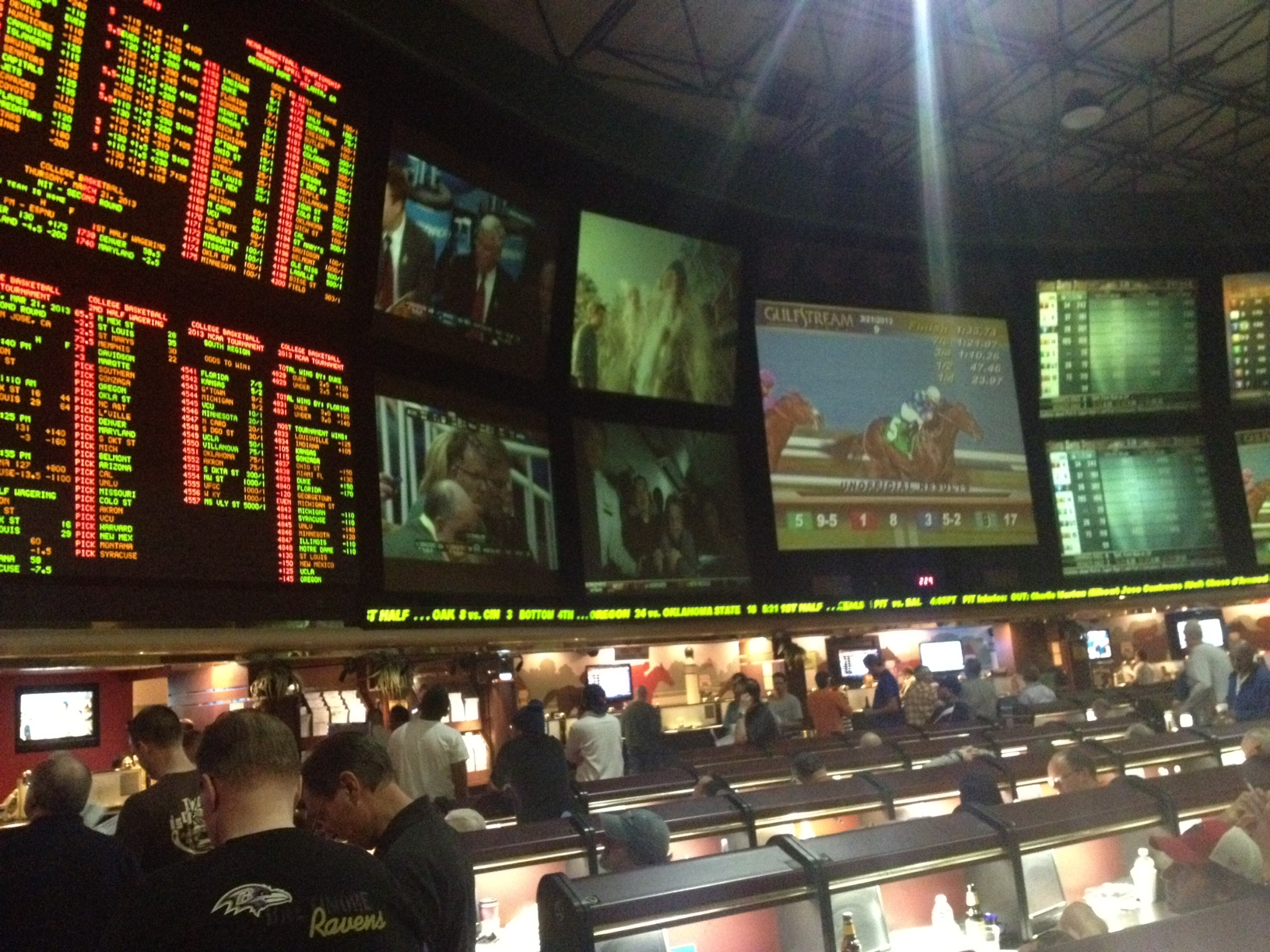 Las Vegas and March Madness: A match made in gamblers' heaven