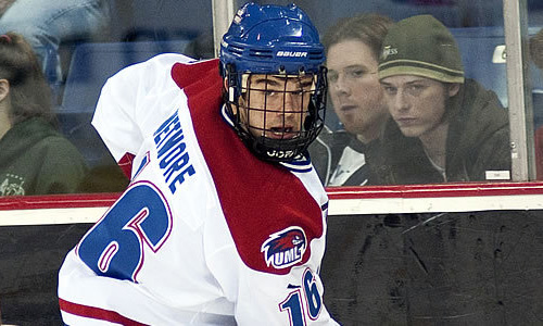 NCAA Frozen Four: UMass-Lowell captain Riley Wetmore