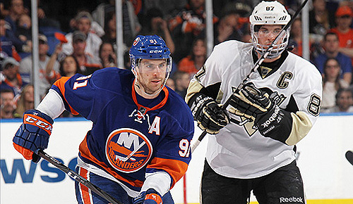 2013 NHL playoffs: John Tavares vs. Sidney Crosby