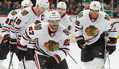 Chicago Blackhawks skate into 2013 NHL playoffs