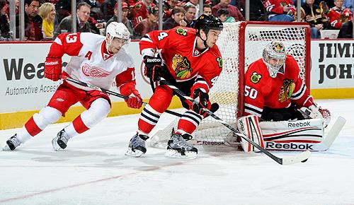 2013 NHL playoffs: Detroit Red Wings vs. Chicago Blackhawks