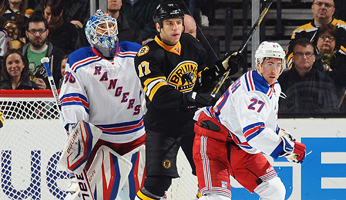 2013 NHL playoffs: Boston Bruins vs. New York Rangers