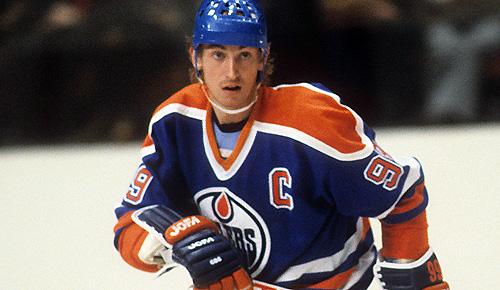 Edmonton Oilers' Wayne Gretzky circa 1980s