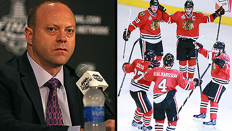 2013 Stanley Cup Final: Chicago GM Stan Bowman deserves credit for keeping the Blackhawks' star players and rebuilding the core