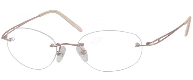 The 'Rimless Pure Titanium', Zennioptical.com, $39.99 plus RX.