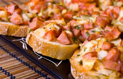 طريقة تحضير سندويشات البيتزا