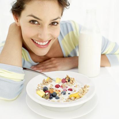 تناول الإفطار يؤدى للبدانة