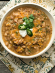 Pork and White Bean Chili