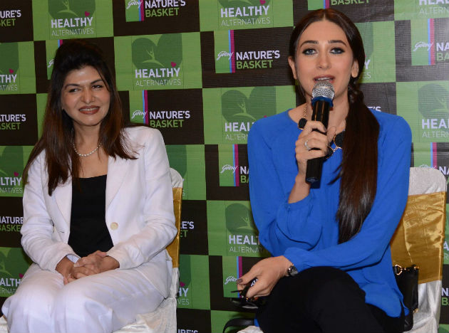 Dr. Anjali Mukherjee with Karishma Kapoor at the launch.