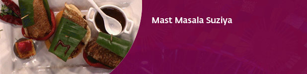 MasterChef Recipes: Mast Masala Suziya