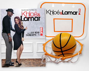 Win a 'Khloe & Lamar' Basketball Hoop and Poster from Yahoo! TV