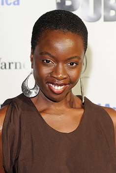 "New ""Walking Dead"" cast member Danai Gurira (Jemal Countess/Getty Images)"