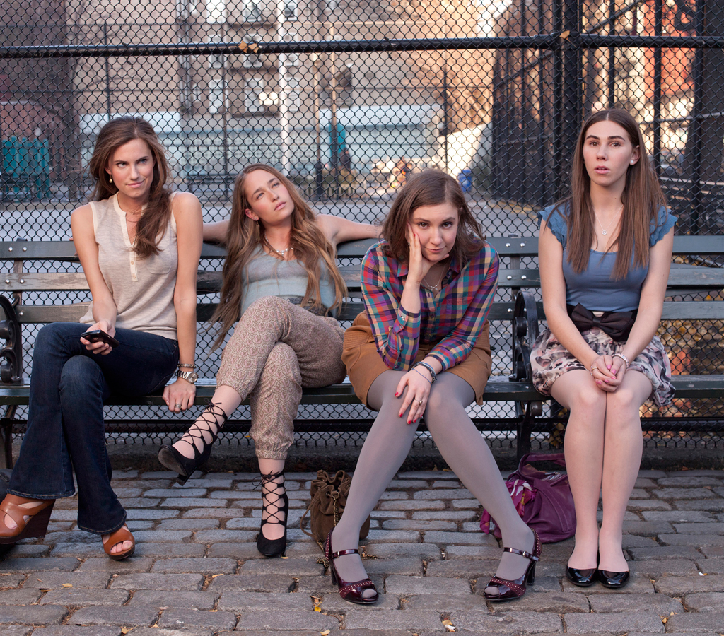 The cast of HBO's 'Girls'