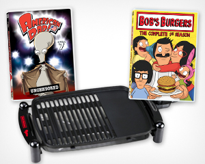 Win 'American Dad!' and 'Bob's Burgers' on DVD and an Indoor Grill from Yahoo! TV