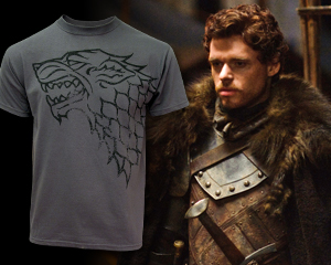 Weekly 'Game of Thrones' Giveaway: Distressed Stark Sigil T-Shirt