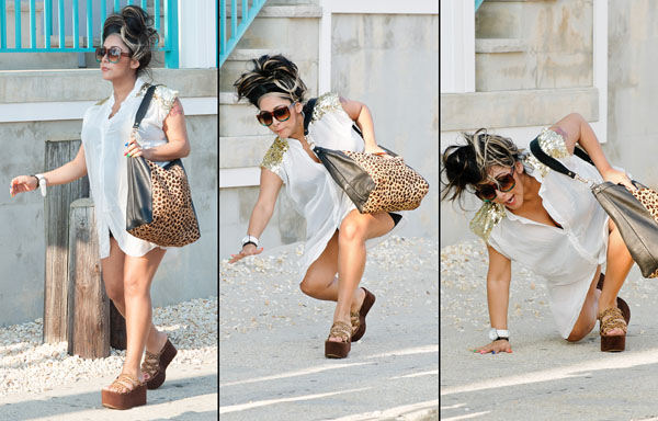 Snooki has a footwear faux pas (Dave Kotinsky/WireImage, Thelonius/Splash News)