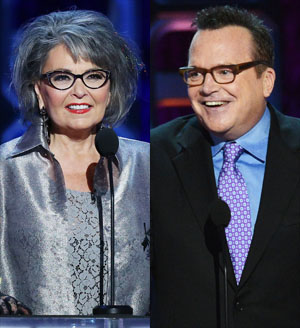 Tom Arnold makes surprise appearance at Comedy Central roast of Roseanne