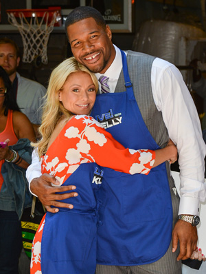 Kelly Ripa and Michael Strahan (Getty Images)
